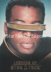 The Legends of Star Trek Trading Cards 2015 Exansion Set La Forge L9