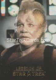 The Legends of Star Trek Trading Cards 2015 Exansion Set Neelix L2