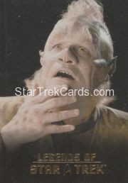 The Legends of Star Trek Trading Cards 2015 Exansion Set Neelix L5
