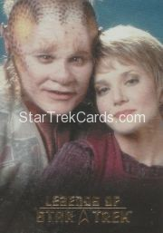 The Legends of Star Trek Trading Cards 2015 Exansion Set Neelix L8