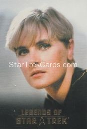 The Legends of Star Trek Trading Cards 2015 Exansion Set Tasha Yar L1