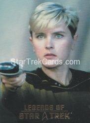 The Legends of Star Trek Trading Cards 2015 Exansion Set Tasha Yar L3