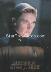 The Legends of Star Trek Trading Cards 2015 Exansion Set Tasha Yar L4
