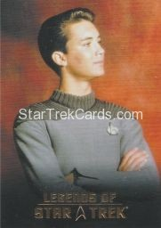 The Legends of Star Trek Trading Cards 2015 Exansion Set Wesley Crusher L1