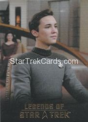The Legends of Star Trek Trading Cards 2015 Exansion Set Wesley Crusher L9