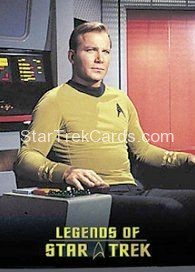 The Legends of Star Trek Trading Cards Captain Kirk L1