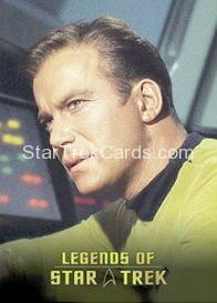 The Legends of Star Trek Trading Cards Captain Kirk L2 1