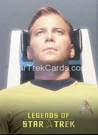 The Legends of Star Trek Trading Cards Captain Kirk L3