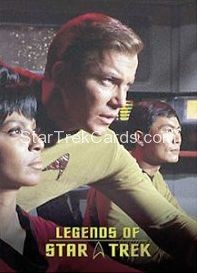 The Legends of Star Trek Trading Cards Captain Kirk L4