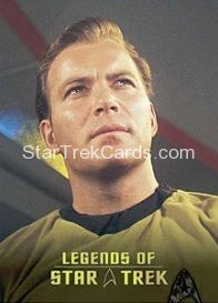 The Legends of Star Trek Trading Cards Captain Kirk L5