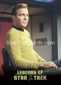 The Legends of Star Trek Trading Cards Captain Kirk L6