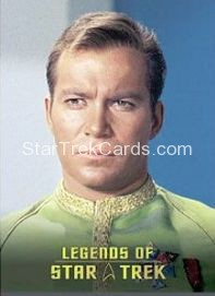 The Legends of Star Trek Trading Cards Captain Kirk L7