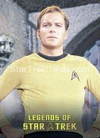 The Legends of Star Trek Trading Cards Captain Kirk L8