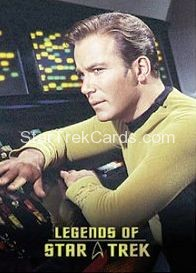 The Legends of Star Trek Trading Cards Captain Kirk L9