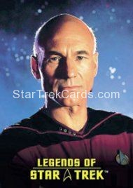 The Legends of Star Trek Trading Cards Captain Picard L1