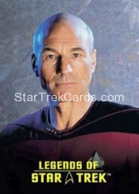 The Legends of Star Trek Trading Cards Captain Picard L2