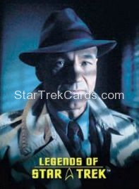 The Legends of Star Trek Trading Cards Captain Picard L3