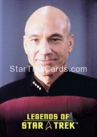 The Legends of Star Trek Trading Cards Captain Picard L4