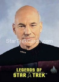 The Legends of Star Trek Trading Cards Captain Picard L5