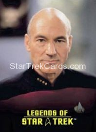 The Legends of Star Trek Trading Cards Captain Picard L6