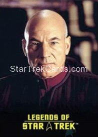 The Legends of Star Trek Trading Cards Captain Picard L7