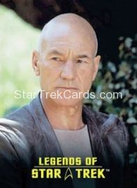 The Legends of Star Trek Trading Cards Captain Picard L8
