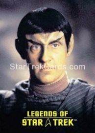 The Legends of Star Trek Trading Cards Lieutenant Commander Data L3