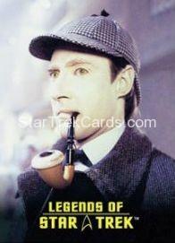The Legends of Star Trek Trading Cards Lieutenant Commander Data L4