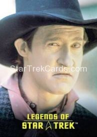The Legends of Star Trek Trading Cards Lieutenant Commander Data L5
