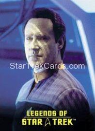 The Legends of Star Trek Trading Cards Lieutenant Commander Data L9