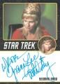 Star Trek The Original Series Portfolio Prints Trading Card Autograph Grace Lee Whitney