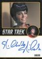 Star Trek The Original Series Portfolio Prints Trading Card Autograph Nichelle Nichols