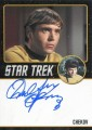 Star Trek The Original Series Portfolio Prints Trading Card Autograph Walter Koenig