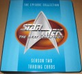 Star Trek The Next Generation Season Two Trading Card Binder