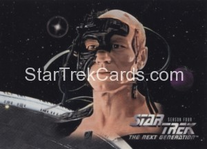 Star Trek The Next Generation Season Four Trading Card 313