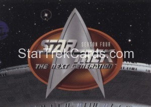 Star Trek The Next Generation Season Four Trading Card 314