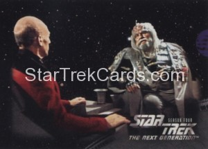 Star Trek The Next Generation Season Four Trading Card 315