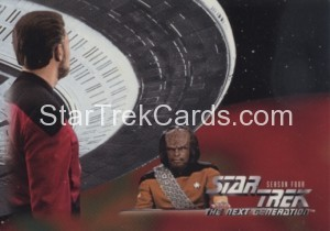 Star Trek The Next Generation Season Four Trading Card 316