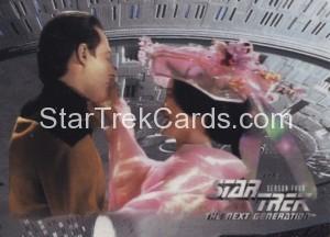 Star Trek The Next Generation Season Four Trading Card 317