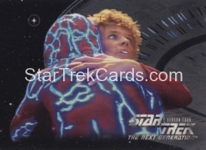 Star Trek The Next Generation Season Four Trading Card 318