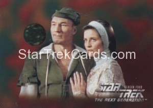 Star Trek The Next Generation Season Four Trading Card 319