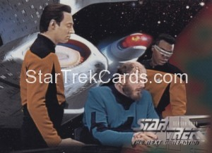 Star Trek The Next Generation Season Four Trading Card 320