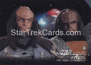 Star Trek The Next Generation Season Four Trading Card 321