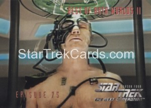 Star Trek The Next Generation Season Four Trading Card 324