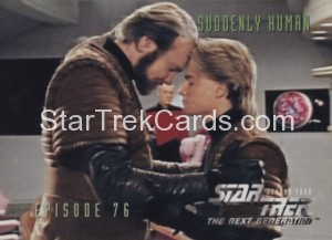 Star Trek The Next Generation Season Four Trading Card 326