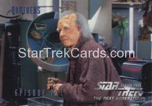 Star Trek The Next Generation Season Four Trading Card 328
