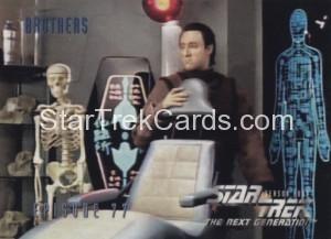 Star Trek The Next Generation Season Four Trading Card 329