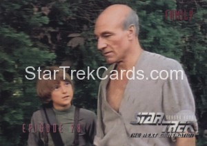 Star Trek The Next Generation Season Four Trading Card 331