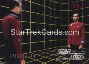 Star Trek The Next Generation Season Four Trading Card 333