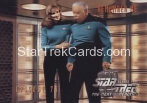 Star Trek The Next Generation Season Four Trading Card 334